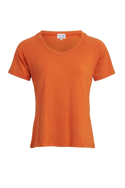Charles Design T-shirt KAREN, Orange
