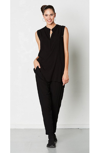 Isaksen Design CAROL SHIRT, Black