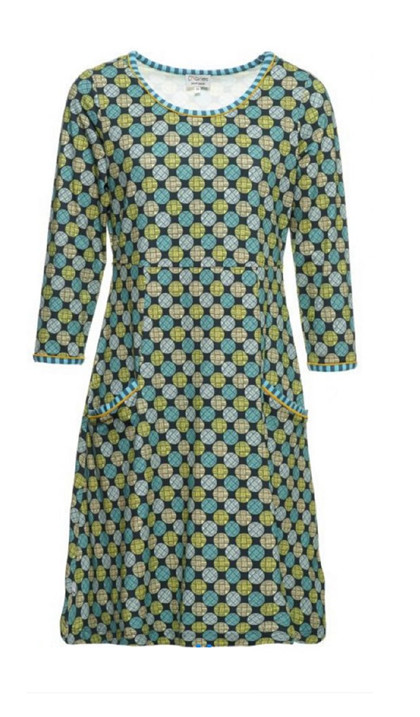 Charles Design Dress Signe, Army Circle