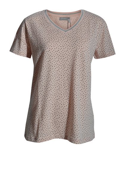 Fransa FRHIORGANIC 2 T-shirt, English Rose mix