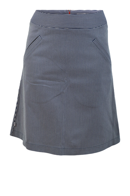 Charles Design Skirt Minna, Navy stripe