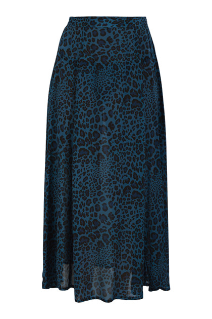 Charlotte Sparre Long Skirt Winter Leo, Blue