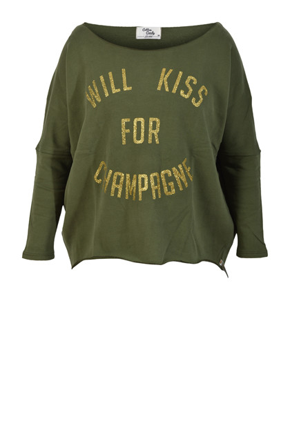 Candy sweatshirt, Olive