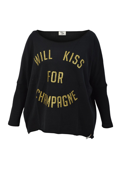 Candy sweatshirt, Black