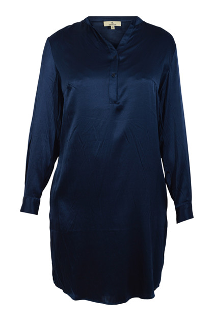 Charlotte Sparre Shirt dress 2429 Solid, Navy