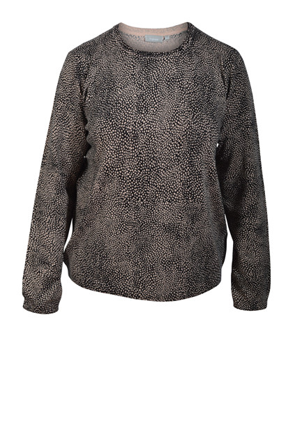 Fransa FRZUALL 1 Pullover Animal - Rose Smoke mix