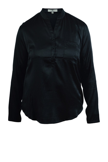 Charlotte Sparre New Slim Shirt 2213, Black