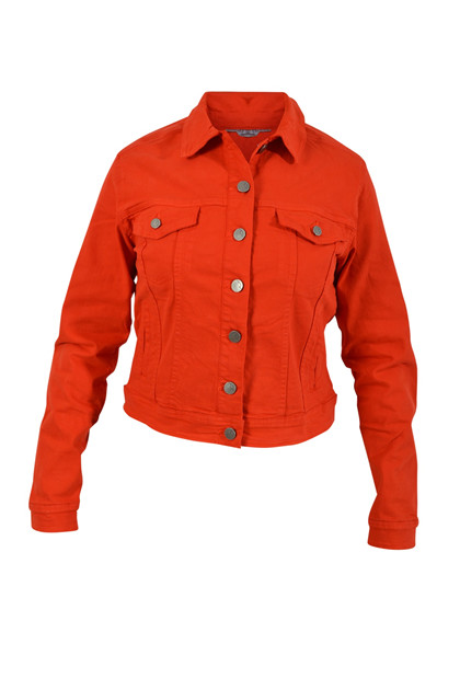 Fransa OSCAPRI 4 Jacket, Fiery Red