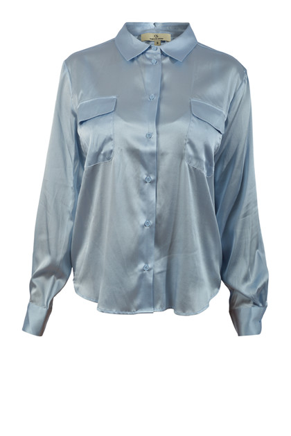 Charlotte Sparre Classic Shirt 2622 Solid, Blue