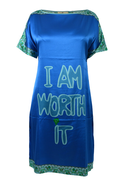 Charlotte Sparre Super dress IWI 2305, Cobalt