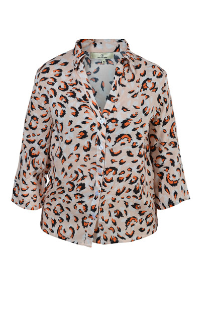 Charlotte Sparre Summer Shirt 2143, Leopen Orange
