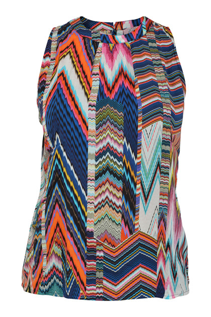 Emily van den Bergh top, Multi colour