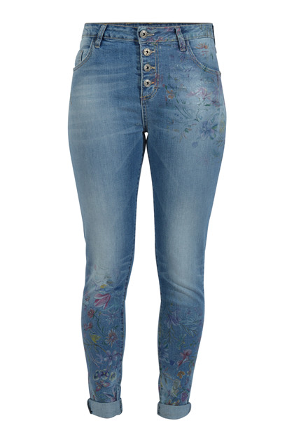 MARYLEY JEANS m print 8EB60S/G43, LYS DENIM