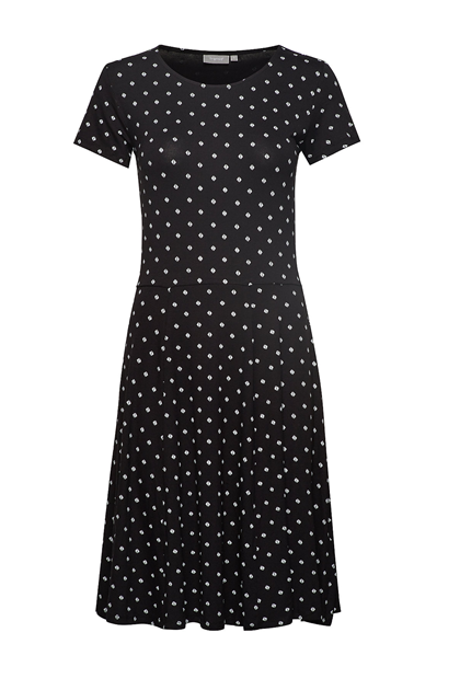 Fransa FRcidot 2 Dress, Black mix