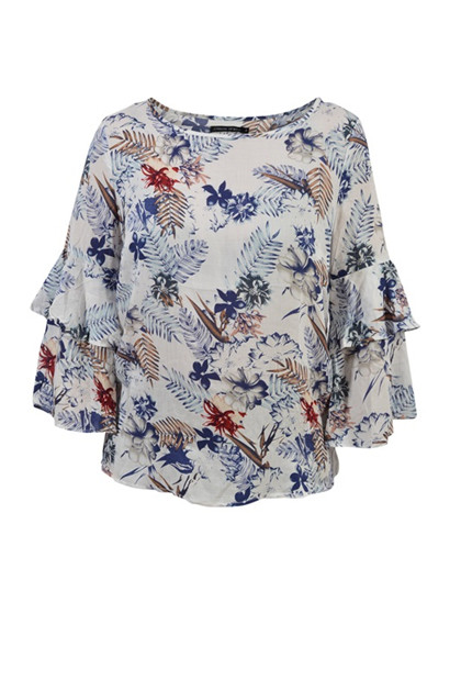 House of Soul BERN 2 bluse, White