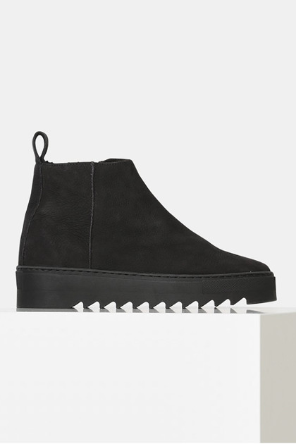 Shoe the Bear LOUI NUBUCK støvle, Black