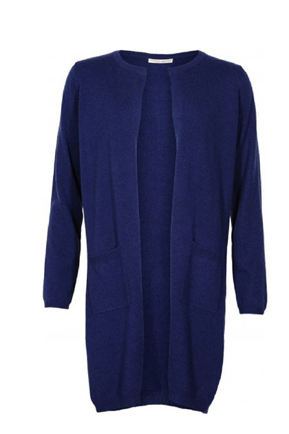 Margit Brandt LAMA cardigan MB1034, Royal Blue