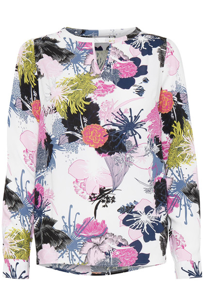 Fransa MACAMPA 1 bluse, All Over Print
