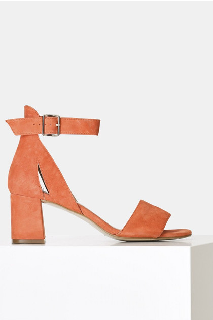 Shoe The Bear MAY ruskind sandal, Coral Red