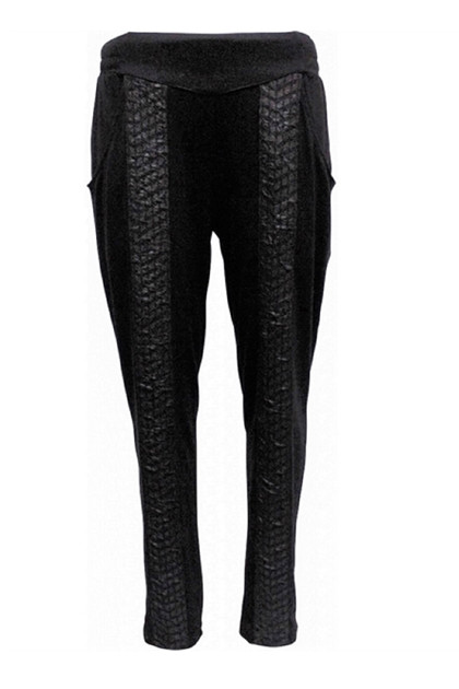 My Soul pants SHINE 4558, Black