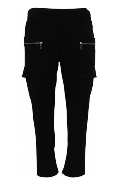 My Soul pants STRETCH 4559, Black