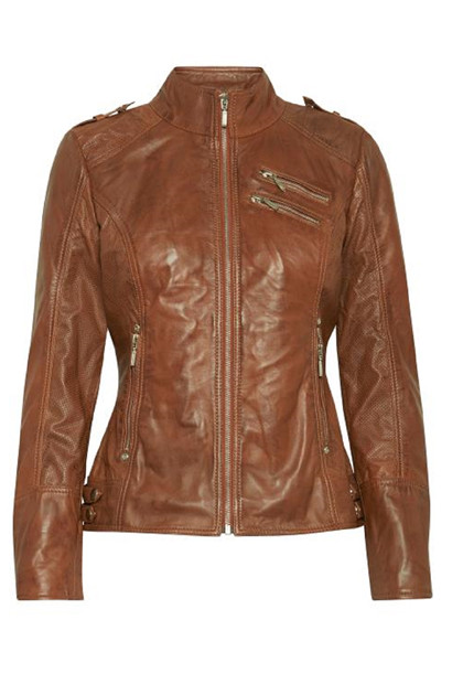 Fransa Naleather 1 Jacket Lamb leather