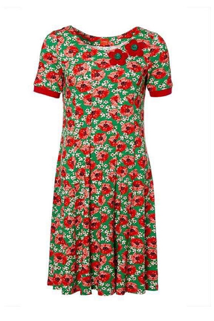 41dc6e1d6897 DU MILDE NINNAS POPPIES SHORT SLEEVE