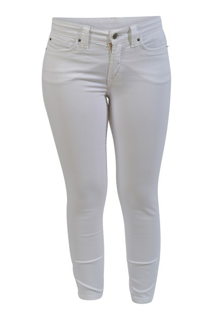 Jonny Q jeans P1161, Jacky stretch sateen, White