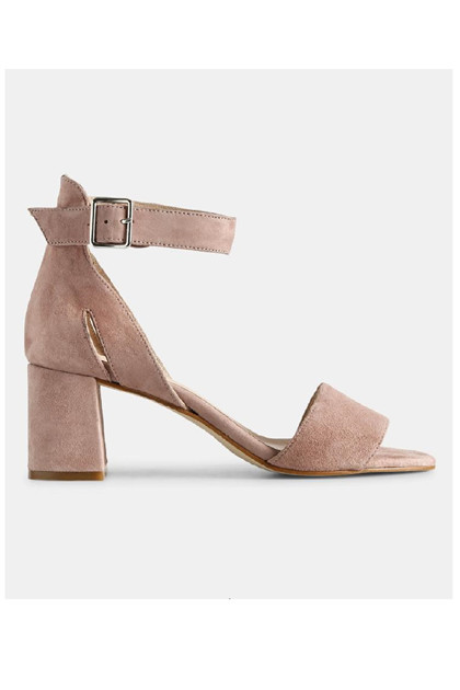 Shoe The Bear MAY ruskind sandal, Pale Blush