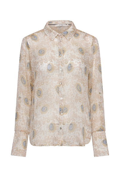 Costamani Linda shirt , Flower sand/blue