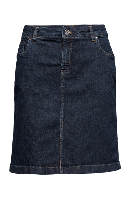 SIGNAL DORRIS  NEDERDEL, DARK BLUE DENIM