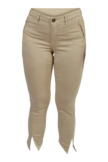 JONNY Q jeans MICHELLE Tech Stretch Sateen Q4718, Desert Sand