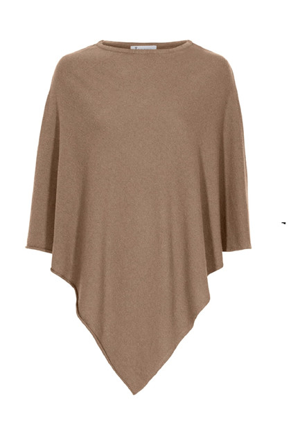 Tif Tiffy PULSE Poncho, Dark Sand