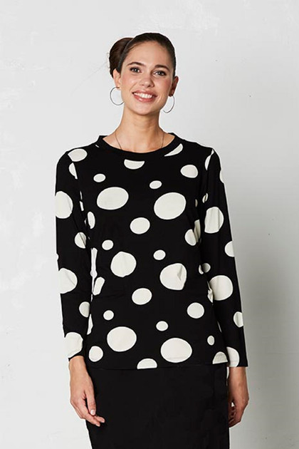 Isaksen Design Tabia Top, Black