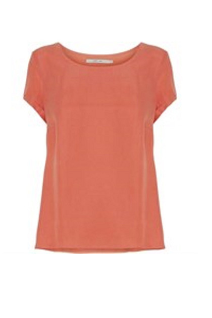 Costamani Lolly bluse, Coral