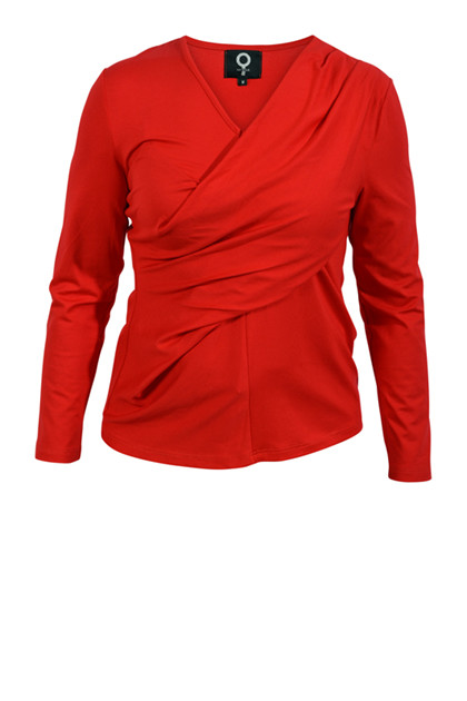 My Soul bluse 0310, Red