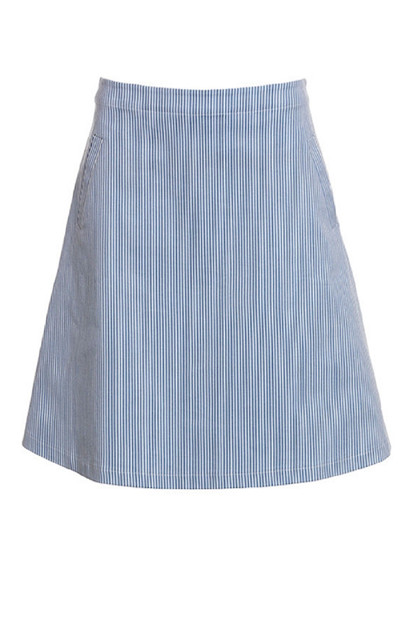 Du Milde SOFIAS Stripes Skirt