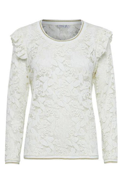 FRANSA SULACY 1 BLUSE, ANTIQUE
