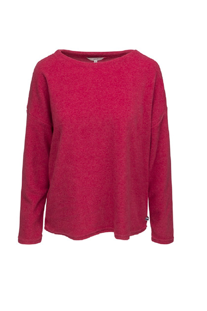 SIGNAL ULLA FLEECE, RED RASPBERRY