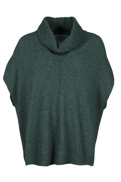 Mansted ZO-BEE Poncho, Cold Green