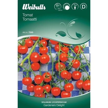 Tomat - Lycopersicum esculentum - Gardens Delight - Frø (W7595)