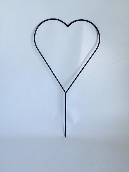 Mellem Hjerte H 91cm, 8 mm rundjern