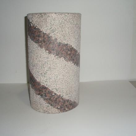 Flaskeholder rosa  H 30cm
