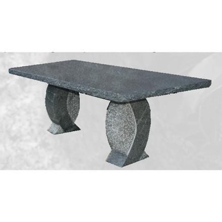 Poleret granit bord (Gr. 431)
