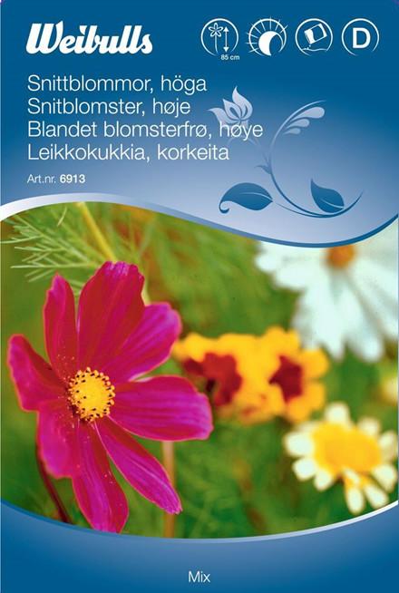 Snitblomster høj mix - Frø (W6913)