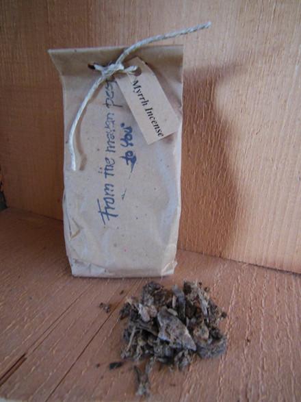 Grill røgelse, Myrrh Incense (Mod myg)