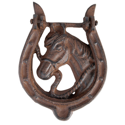 Dørhammer, hestesko 12 x 2,9 x 16 cm