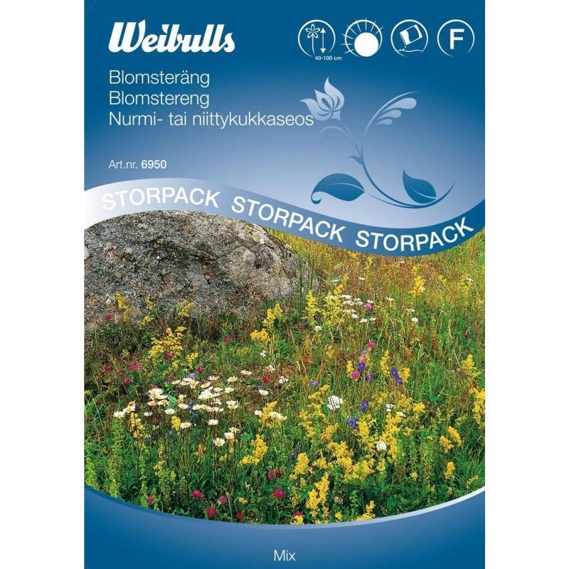 Blomstereng - Mix, Stor pose 25 gram - Frø (W6950)