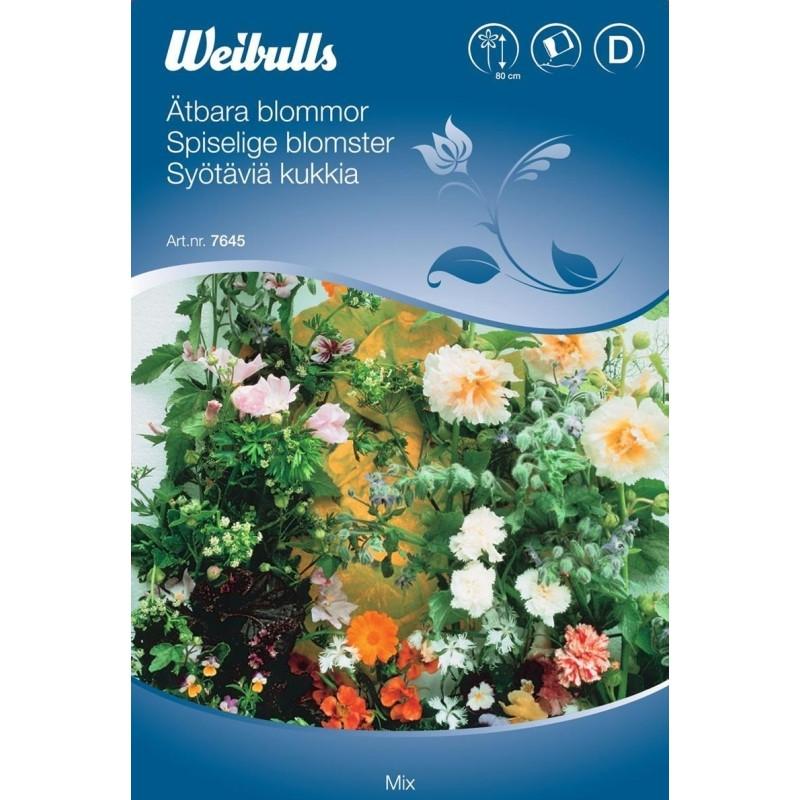 Spiselige blomster - Mix - Frø (W7645)