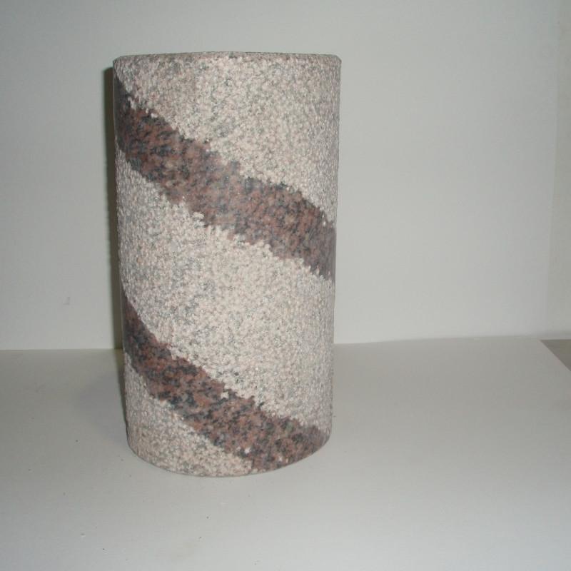 Flaskeholder rosa  H 30cm udgår